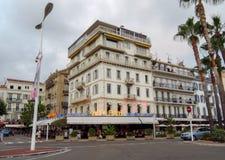 Cannes - arkitektur av staden Arkivfoton