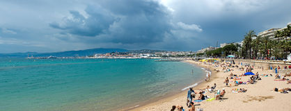 Cannes - Beach Royalty Free Stock Image