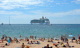 Cannes - Beach Stock Images