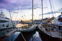Cannes bis zum Abend Lizenzfreie Stockfotografie
