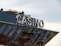 Cannes - casino en el palacio de festivales imágenes de archivo libres de regalías