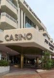 Cannes - Casino van het Hotel van JW Marriott stock foto's