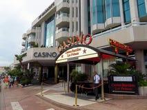 Cannes - Casino van het Hotel van JW Marriott royalty-vrije stock foto