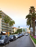Cannes city street view,France Royalty Free Stock Photo