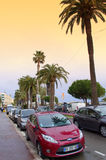 Cannes city street view,France Stock Photography