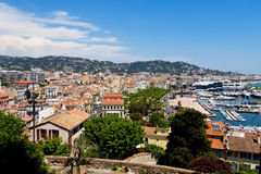 Cannes city view Stock Photo
