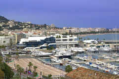 Cannes city waterfront,France Royalty Free Stock Image