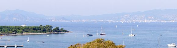 Cannes cityscape Stock Image