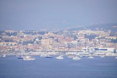 Cannes cityscape Royalty Free Stock Photography