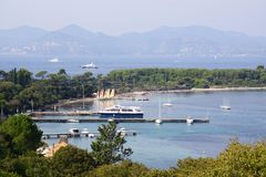 Cannes cityscape Royalty Free Stock Photo