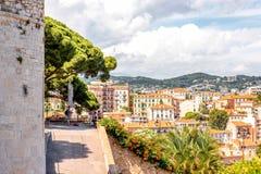 Cannes cityscapesikt Royaltyfri Foto