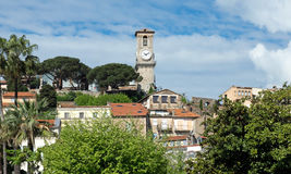Cannes - Clock tower Stock Photo