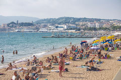 Cannes coast Stock Photo