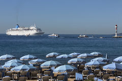 Cannes - Cote d'Azur - South of France royalty free stock images