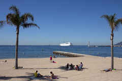 Cannes - Cote dAzur - South of France stock images