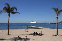 Cannes - dAzur da costa - sul de France imagens de stock