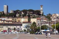 Cannes - dAzur da costa - sul de France fotografia de stock