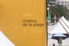 cannes festivalfilm 2011 france Royaltyfria Bilder