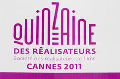 cannes festivalfilm 2011 france Royaltyfri Foto