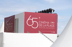 Cannes film festival 65th edition 2012 Stock Photo