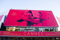 Cannes film festival 2017 Royalty Free Stock Photo