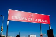 Cannes-Filmfestival 2017 Lizenzfreies Stockfoto