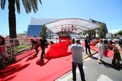 Cannes filmfestival, atmosfär Royaltyfri Bild