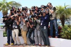 Cannes filmfestival, atmosfär Royaltyfria Bilder
