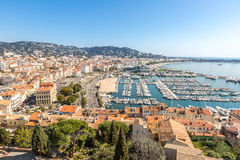 Cannes France Royalty Free Stock Photography