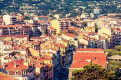 Cannes France Cityscape Royalty Free Stock Image