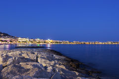 Cannes in France in the evening Stock Photo