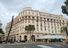 Cannes - Hotel Miramar stock photography