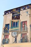 Cannes, France, Murales about Cinema Stock Photo