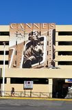 Cannes, France, Murales about Festival de Cinema Royalty Free Stock Photos