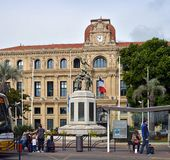Hotel de Ville, Cannes France Royalty Free Stock Image