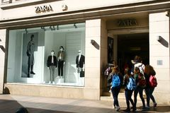 Cannes, France, 27.03.2017, Shop Zara Stock Photo