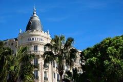 Cannes, Francia - 25 ottobre 2017: la vista d'angolo del famoso fa Immagini Stock