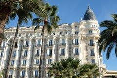 Cannes, Francia - 25 ottobre 2017: vista frontale del cuore famoso Fotografia Stock Libera da Diritti