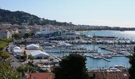 Cannes Frankreich Stockfotografie