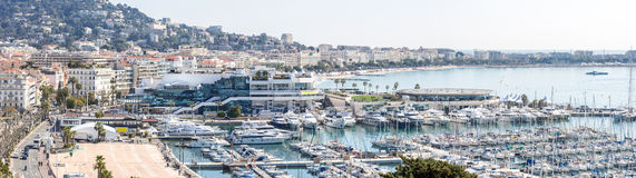 Cannes Frankreich stockfotos