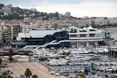 Cannes, Frankrijk, het Paleis van het Festival Royalty-vrije Stock Afbeelding