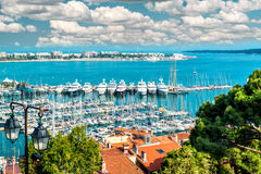 Cannes Frankrike Royaltyfri Fotografi