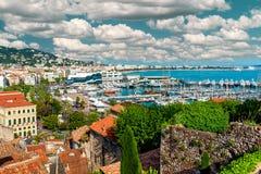 Cannes Frankrike Arkivbilder
