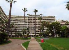 Cannes - Groot Hotel stock afbeelding