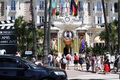 Cannes. Hôtel Carlton photos stock
