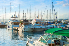 Cannes harbor, France Stock Photography
