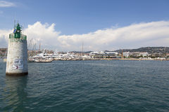 Cannes Harbour Royalty Free Stock Images