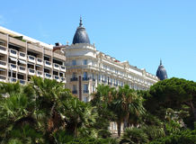 Cannes - Hotel Royalty Free Stock Images