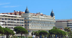 Cannes - Hotel Stock Image