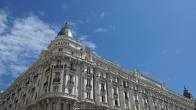Cannes - Hotel Carlton stock footage
